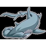 Наклейка Акула-039, фото 1