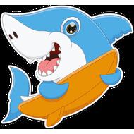 Наклейка Акула-048, фото 1
