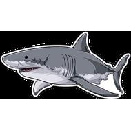 Наклейка Акула-053, фото 1