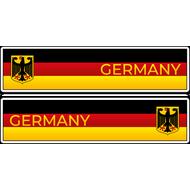Комплект наклеек 2 шт Germany, фото 1