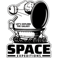 Наклейка Space Expeditions, фото 1