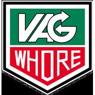 Наклейка VAG Whore, фото 1