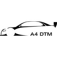 Наклейка Audi A4 DTM, фото 1