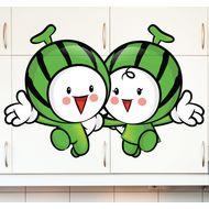 Наклейка Веселые арбузики, фото 1