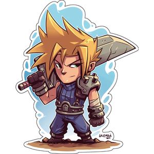 Стикер  The Legend of Zelda, Cloud, фото 1