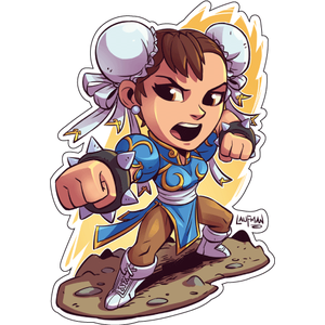 Стикер Street Fighter Chun-Li, фото 1