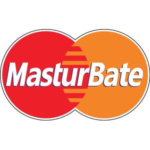 Наклейка Антибренд MasterCard, фото 1