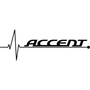 Наклейка Accent Heartbeat, фото 1