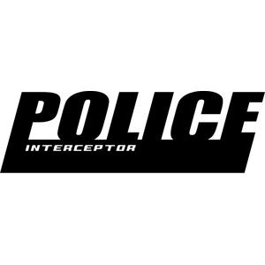 Наклейка POLICE interceptor, фото 1
