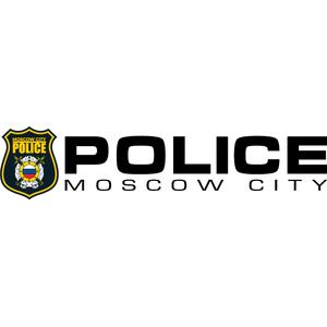 Наклейка POLICE moscow city на левый борт, фото 1