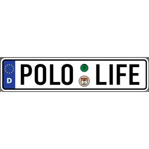 Наклейка POLO LIFE, фото 1