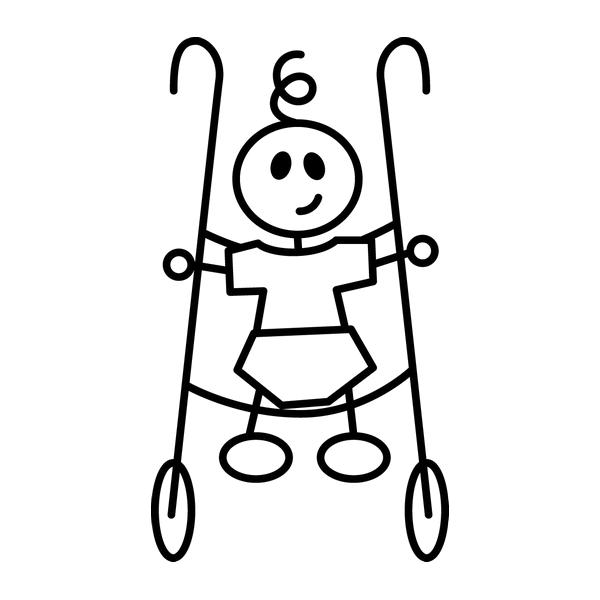 Наклейка Family Stickers Ребенок, фото 13