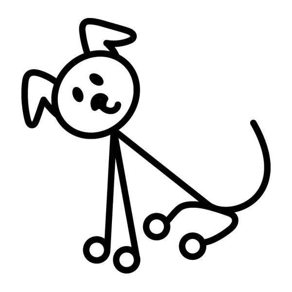 Наклейка Family Stickers Пёс, фото 13