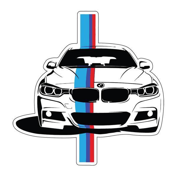 Наклейка BMW Serie 3, фото 1