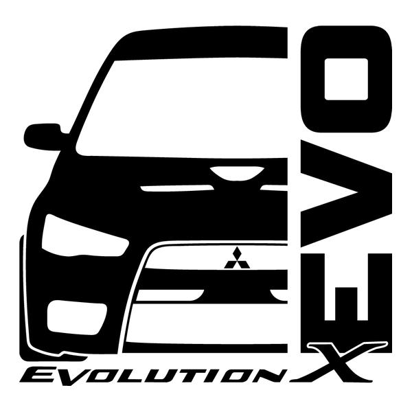 Наклейка Evolution X, фото 13