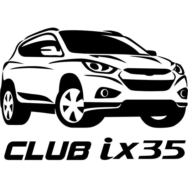 Наклейка Club ix35, фото 13