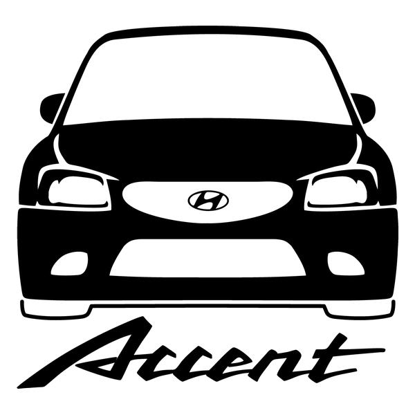 Наклейка Accent, фото 13