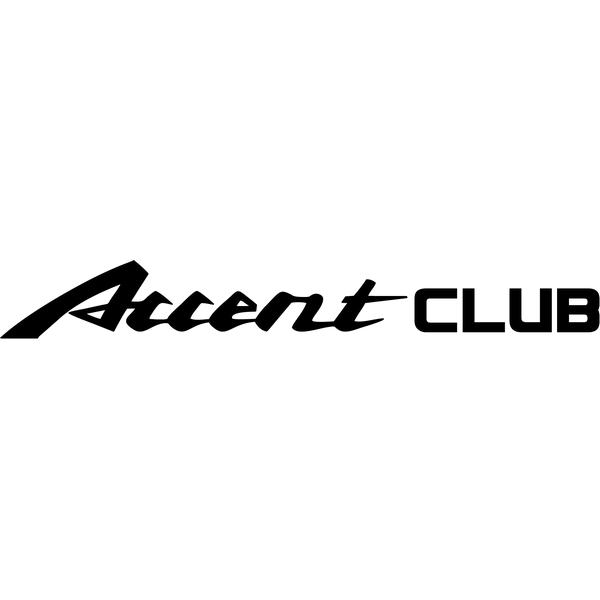 Наклейка Accent club, фото 13