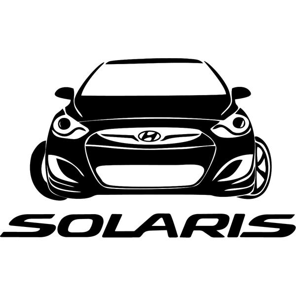 Наклейка Solaris, фото 13