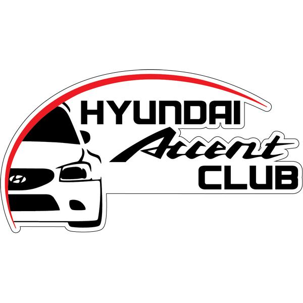 Наклейка Accent club, фото 1