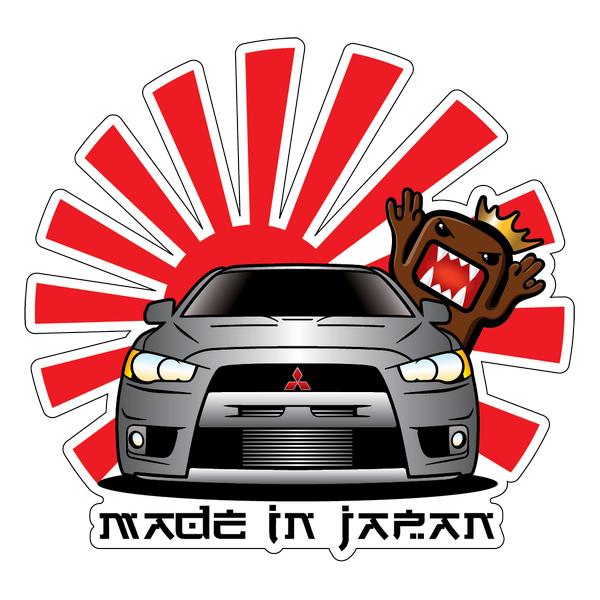 Наклейка Mitsubishi made in japan, фото 1