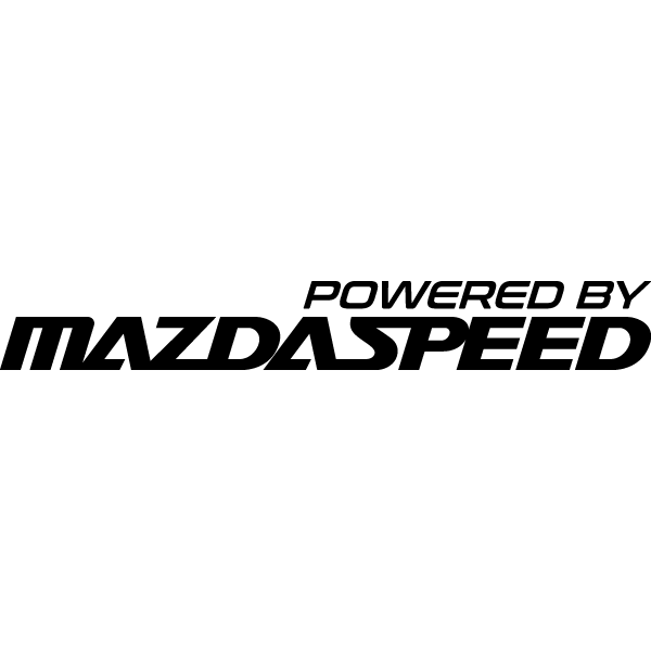 Наклейка Powered by Mazdaspeed, фото 13