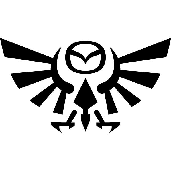 Наклейка Mazda eagle, фото 13