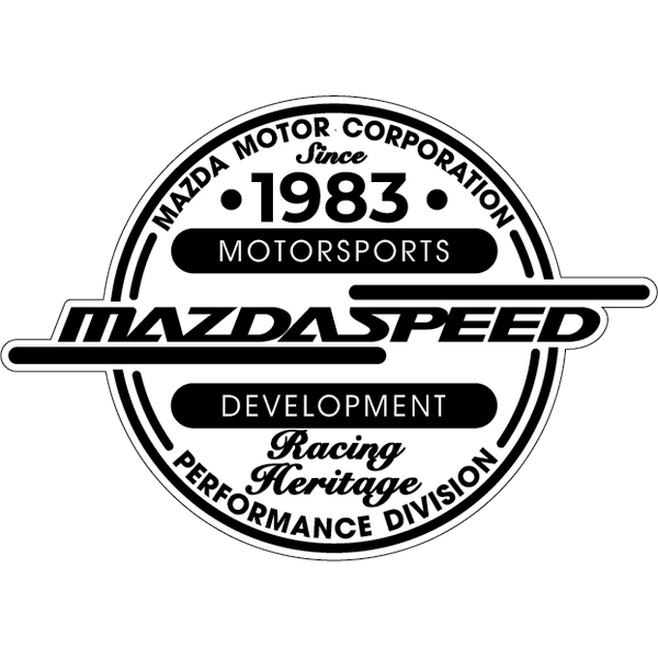 Наклейка Mazdaspeed Racing Heritage, фото 13