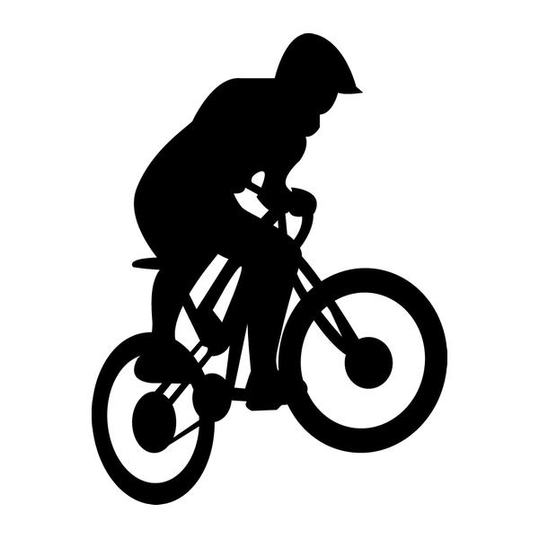Наклейка Велосипедист, фото 13