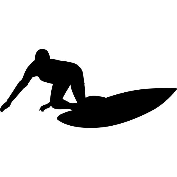 Наклейка Серфингист, фото 13