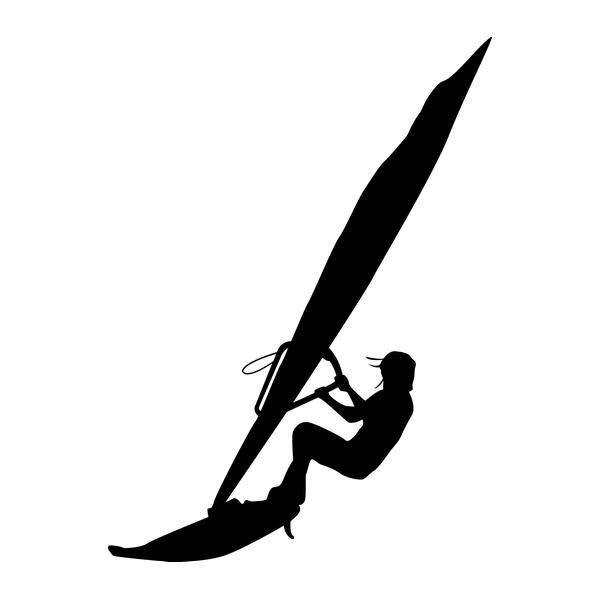 Наклейка Серфингистка, фото 13