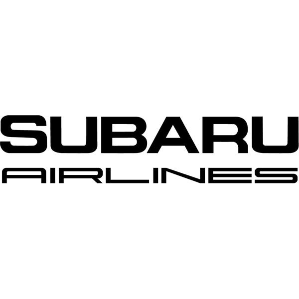 Наклейка Subaru Airlines, фото 13