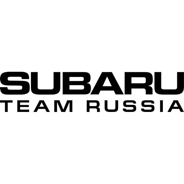 Наклейка Subaru Team Russia, фото 13