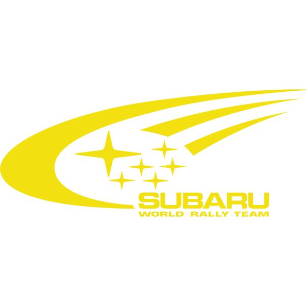 Наклейка Subaru World Rally Team, фото 13