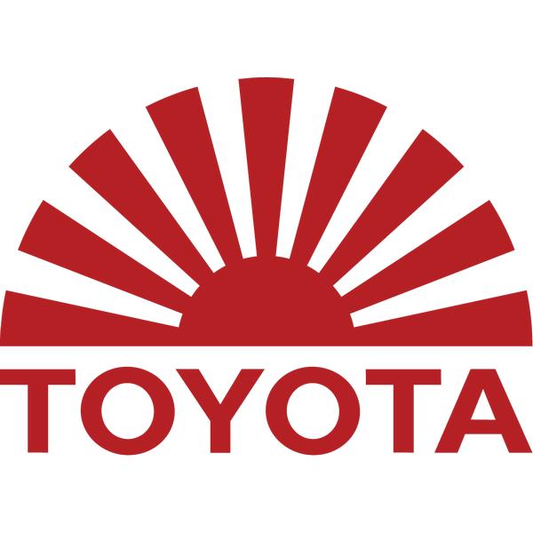 Наклейка Toyota sun, фото 13