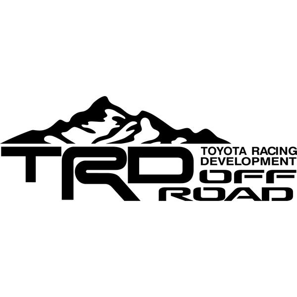 Наклейка TRD Offroad, фото 13
