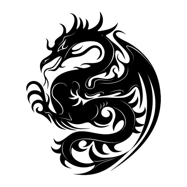 Наклейка Дракон-001, фото 13