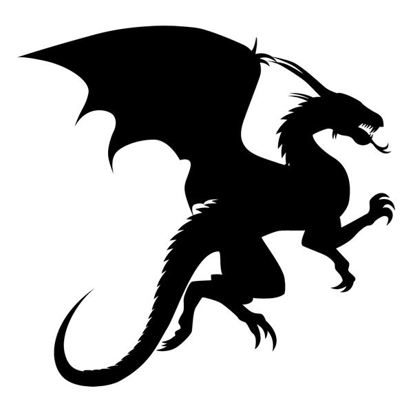 Наклейка Дракон-002, фото 13