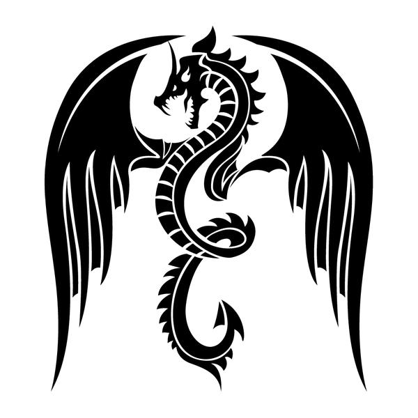 Наклейка Дракон-005, фото 13