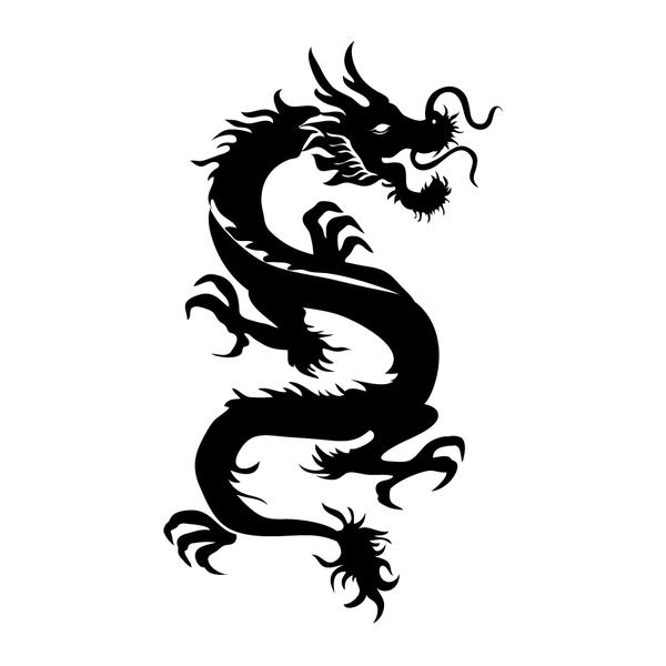 Наклейка Дракон-007, фото 13