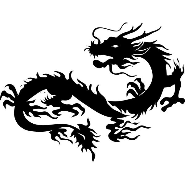 Наклейка Дракон-008, фото 13