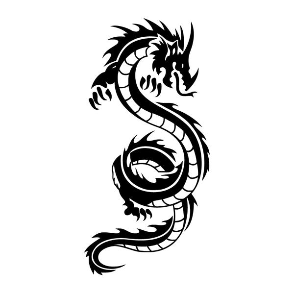 Наклейка Дракон-009, фото 13