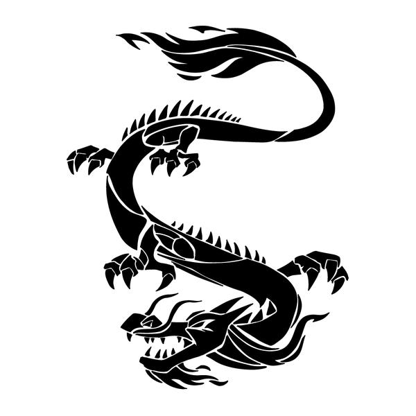 Наклейка Дракон-011, фото 13