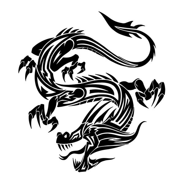 Наклейка Дракон-013, фото 13