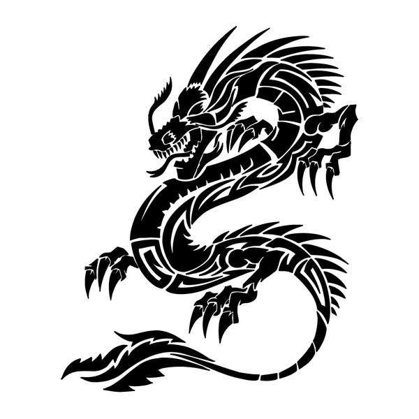 Наклейка Дракон-014, фото 13