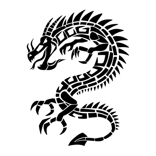 Наклейка Дракон-016, фото 13