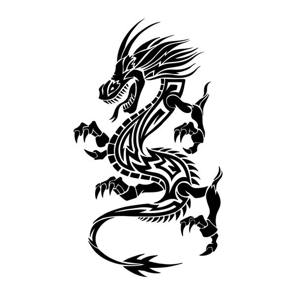 Наклейка Дракон-021, фото 13