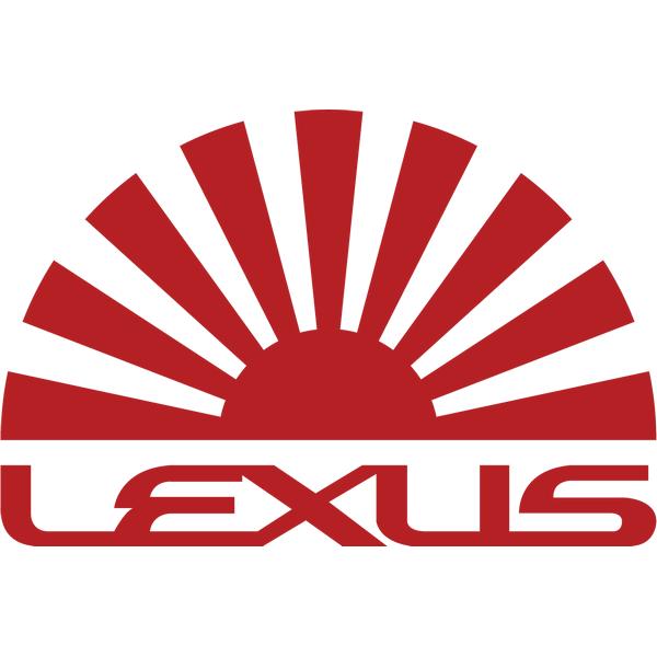 Наклейка Lexus sun, фото 13