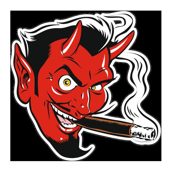 Наклейка Дьявол, фото 1