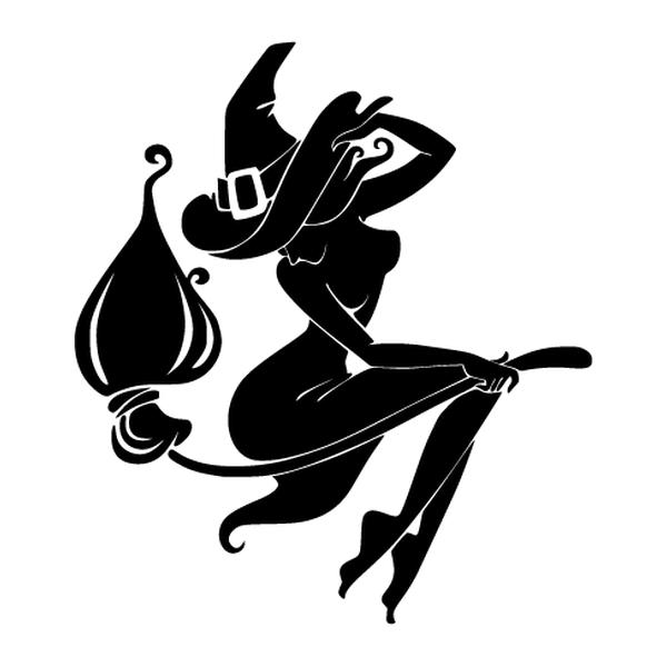 Наклейка Ведьмочка, фото 13